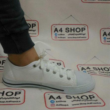 کفش زنانه converse سفید