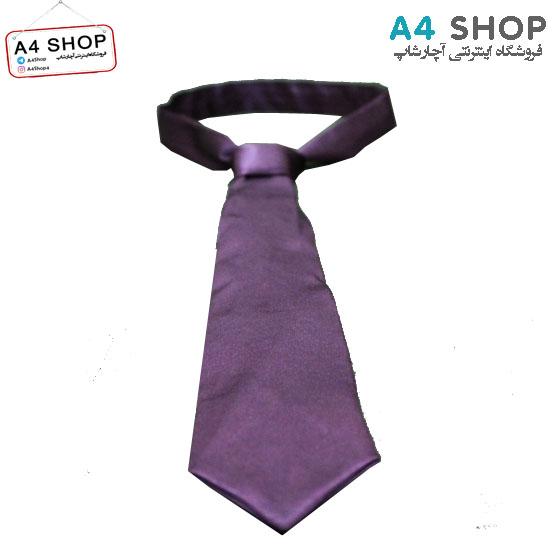 کراوات مردانه رنگ بنفش